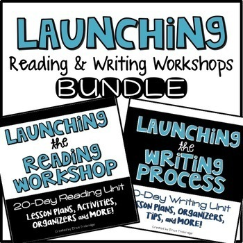 Launching the Reading and Writing Workshops BUNDLE