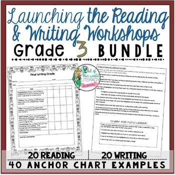 Grade 3 Launching the Reading and Writing Workshops