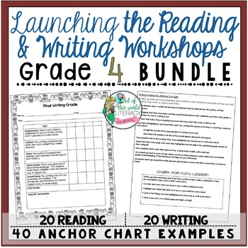 Grade 4 Launching the Reading and Writing Workshops