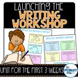 Launching the Writing Workshop Unit
