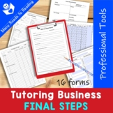 Launching your Tutoring Business {Be a Professional Series}