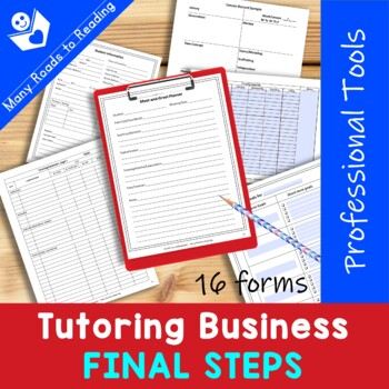 Launching your Tutoring Business {Professional Tools}