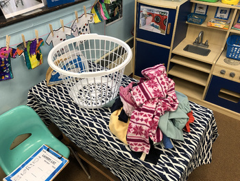 Laundry Dramatic Play (Laundromat)