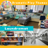 Dramatic Play Laundry Visuals and Printables for Pretend P