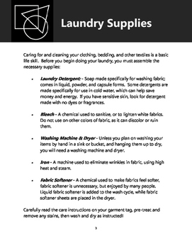 Laundry Basics