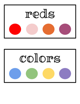 Laundry Basket Labels