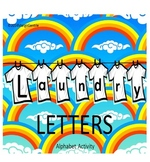 #backtoschool Laundry Letters Alphabet Activity