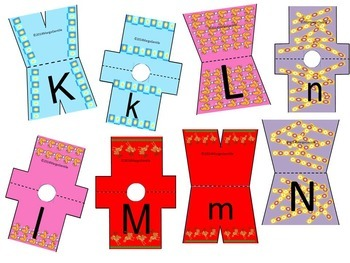 #backtoschool Preprinted on Cardstock Laundry Letters Alphabet Activity