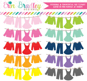 Laundry Line Clipart Bunting