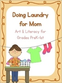 Laundry Literacy & Art Bundle {A Mother's Day Special}