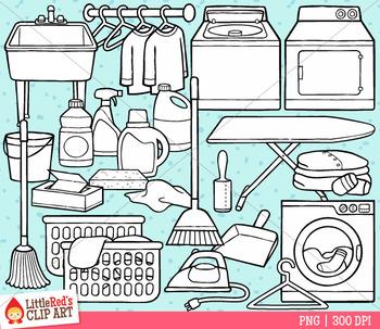 Laundry Room Clip Art