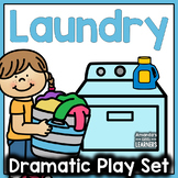 Laundry Room or Laundromat Dramatic Play Set