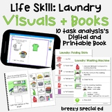 Laundry Task Analysis and Interactive Book (Print and Digi