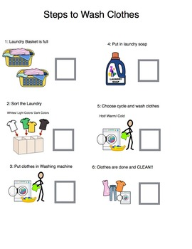 Laundry Work Task