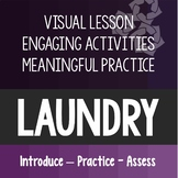 Laundry Lesson Life Daily Living Skills Special Education