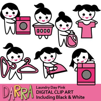 Laundry day clip art