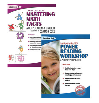Laura Candler Combo: Mastering Math Facts + Power Reading Workshop