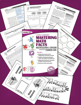 Laura Candler's Mastering Math Facts - Multiplication & Division