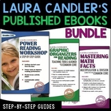 Laura Candler's Math and Reading 3-Book Bundle