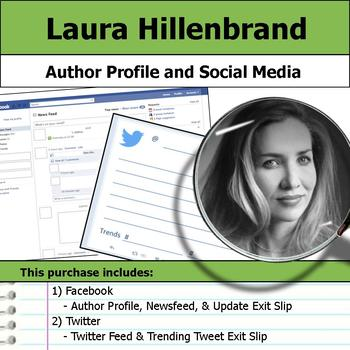 Laura Hillenbrand - Author Study - Profile and Social Media