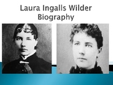 Laura Ingalls Wilder Biography PowerPoint