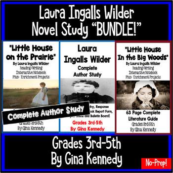 "Laura Ingalls Wilder ""Bundle"", Two Complete Novel Studies, Plus: Author Study"