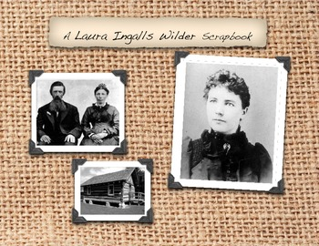 Laura Ingalls Wilder Pioneer Activities, Family Tree, Family Pictures