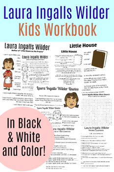 Laura Ingalls Wilder Study Workbook