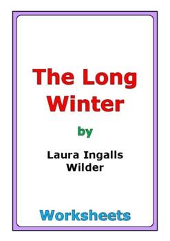 "Laura Ingalls Wilder ""The Long Winter"" worksheets"