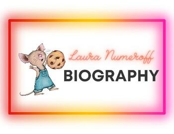 Laura Numeroff Biography: Author Study