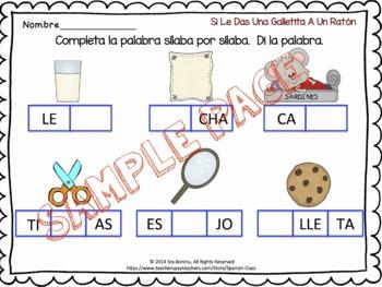 Laura Numeroff - Compañero de Libro in Spanish worksheets & craft