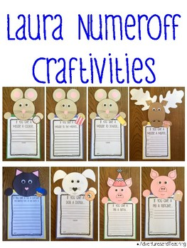 Laura Numeroff Craftivities Set