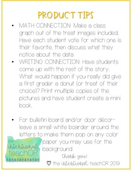 Laura Numeroff Door Decor or Bulletin Board with Academic Extensions- 2nd Grade