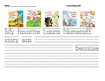 Laura Numeroff Favorite Book