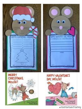 Laura Numeroff Holidays Craftivities Set