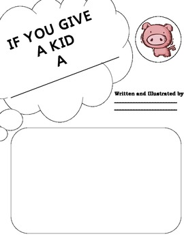 "Laura Numeroff ""If You Give Kid a ...."" Book Title Cover Sheets"