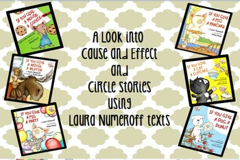 Laura Numeroff Interactive Flipchart - Cause and Effect and Circle Stories