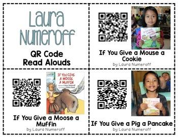 Laura Numeroff QR Code Read Alouds