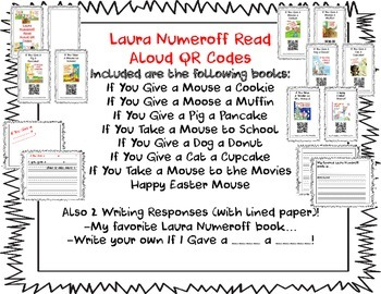 Laura Numeroff QR Code Read Alouds: If You Give A...