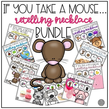 Laura Numeroff Themed Bundle of Sequencing Craft Activities