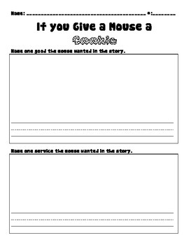 Laura Numeroff Worksheets