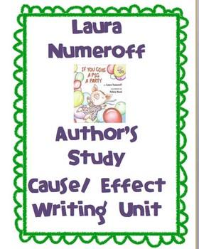 Laura Numeroff Writing Activity