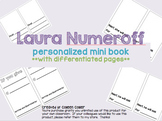 Laura Numeroff personalized mini books