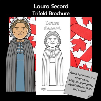 Laura Secord Biography Trifold Brochure