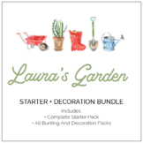 Laura's Garden Classroom Decor and Party Pack