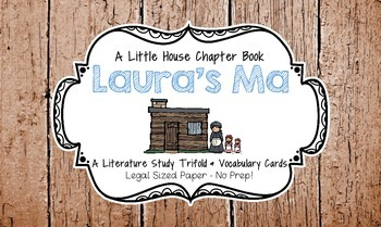 Laura's Ma (A Little House Chapter Book) Trifold Literatur