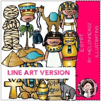 Lauree's Egyptian by Melonheadz LINE ART