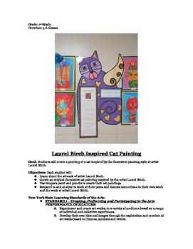 Laurel Birch Cat Paintings