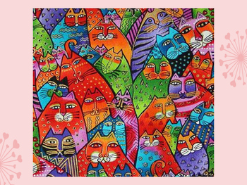 Laurel Burch Watercolour