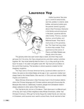 Laurence Yep (Lexile 970)